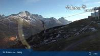 Archived image Webcam Galzig Top Station - St. Anton 11:00