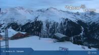 Archiv Foto Webcam Gampen Restaurant, Bergstation Gampenbahn 04:00