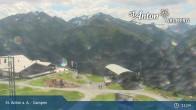 Archived image Webcam Mountain Restaurant Gampen / Top Station Gampenbahn 05:00