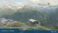 Archived image Webcam Mountain Restaurant Gampen / Top Station Gampenbahn 11:00