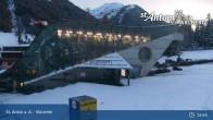 Archived image Webcam Galzigbahn Base Station (St. Anton) 23:00