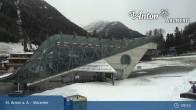Archiv Foto Webcam Skicenter Galzigbahn - St. Anton 03:00