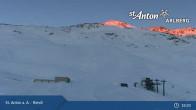 Archived image Webcam St. Anton: Rendl Mountain Restaurant 02:00