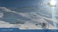 Archiv Foto Webcam Bergrestaurant Rendl St. Anton 08:00