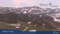 Archived image Webcam St. Anton: Rendl Mountain Restaurant 19:00