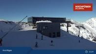 Archiv Foto Webcam Waidoffen Sessellift Bergstation Hochfügen 05:00