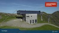 Archiv Foto Webcam Waidoffen Sessellift Bergstation Hochfügen 03:00