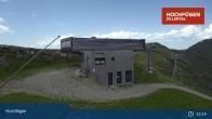 Archiv Foto Webcam Waidoffen Sessellift Bergstation Hochfügen 07:00