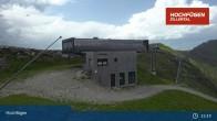 Archiv Foto Webcam Waidoffen Sessellift Bergstation Hochfügen 09:00