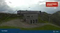 Archiv Foto Webcam Waidoffen Sessellift Bergstation Hochfügen 11:00