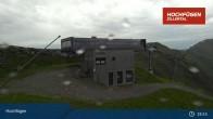 Archiv Foto Webcam Waidoffen Sessellift Bergstation Hochfügen 13:00