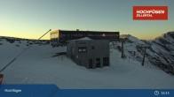 Archiv Foto Webcam Waidoffen Sessellift Bergstation Hochfügen 19:00