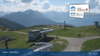 Archiv Foto Webcam Landeck - Bergstation Venetbahn 11:00