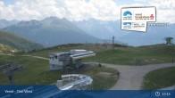 Archiv Foto Webcam Landeck - Bergstation Venetbahn 13:00