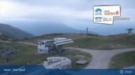 Archiv Foto Webcam Landeck - Bergstation Venetbahn 19:00