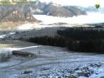 Archiv Foto Webcam Zahmer Kaiser: Bergstation Richtung Walchsee 04:00