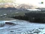 Archiv Foto Webcam Zahmer Kaiser: Bergstation Richtung Walchsee 08:00