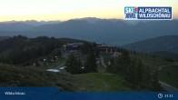 Archived image Webcam Top Station on Schatzberg (Wildschönau) 21:00