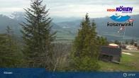 Archiv Foto Webcam am Unterberghorn (Kössen) 23:00