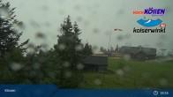 Archived image Webcam at Unterberghorn (Kössen) 19:00