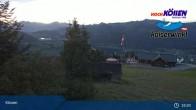 Archived image Webcam at Unterberghorn (Kössen) 23:00