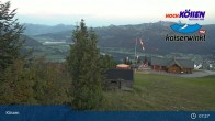 Archived image Webcam at Unterberghorn (Kössen) 01:00