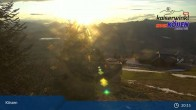 Archiv Foto Webcam am Unterberghorn (Kössen) 21:00