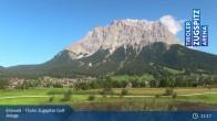 Archiv Foto Webcam Tiroler Zugspitze - Golfanlage 09:00