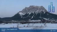 Archiv Foto Webcam Tiroler Zugspitze - Golfanlage 19:00