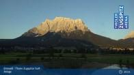 Archiv Foto Webcam Tiroler Zugspitze - Golfanlage 04:00