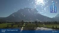 Archiv Foto Webcam Tiroler Zugspitze - Golfanlage 08:00