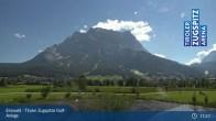 Archiv Foto Webcam Tiroler Zugspitze - Golfanlage 10:00