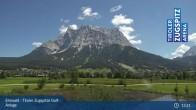 Archiv Foto Webcam Tiroler Zugspitze - Golfanlage 12:00