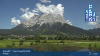 Archiv Foto Webcam Tiroler Zugspitze - Golfanlage 14:00