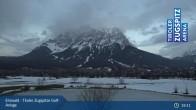 Archiv Foto Webcam Tiroler Zugspitze - Golfanlage 23:00