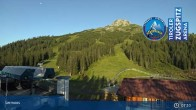 Archived image Webcam Grubig Alm at Lermoos Ski Resort 01:00