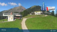 Archiv Foto Webcam Sonnalmbahn- Bergstation 05:00