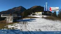 Archiv Foto Webcam Sonnalmbahn- Bergstation 07:00
