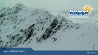 Archiv Foto Webcam Kappl: Bergstation Alblittkopfbahn 02:00