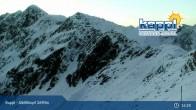 Archiv Foto Webcam Kappl: Bergstation Alblittkopfbahn 19:00