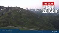 Archiv Foto Webcam Hochzeiger: Blick vom Sechszeiger Jerzens 23:00