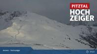 Archiv Foto Webcam Hochzeiger: Blick vom Sechszeiger Jerzens 13:00