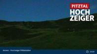 Archiv Foto Webcam Hochzeiger Mittelstation 23:00