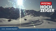 Archiv Foto Webcam Zirbenbahn Bergstation 03:00