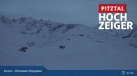 Archiv Foto Webcam Zirbenbahn Bergstation 15:00