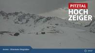 Archiv Foto Webcam Zirbenbahn Bergstation 08:00