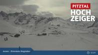 Archiv Foto Webcam Zirbenbahn Bergstation 10:00