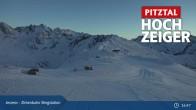 Archiv Foto Webcam Zirbenbahn Bergstation 23:00