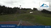 Archiv Foto Webcam Kaprun: Bergstation Maiskogelbahn 01:00