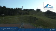 Archiv Foto Webcam Kaprun: Bergstation Maiskogelbahn 23:00